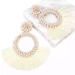 Jewelry - Beige Trendy Earrings